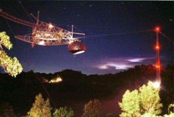 Radioteleskop v Arecibu